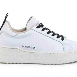 BLAUER – SCARPA DA DONNA F.DO ALTO MADALINE 07 BIANCO